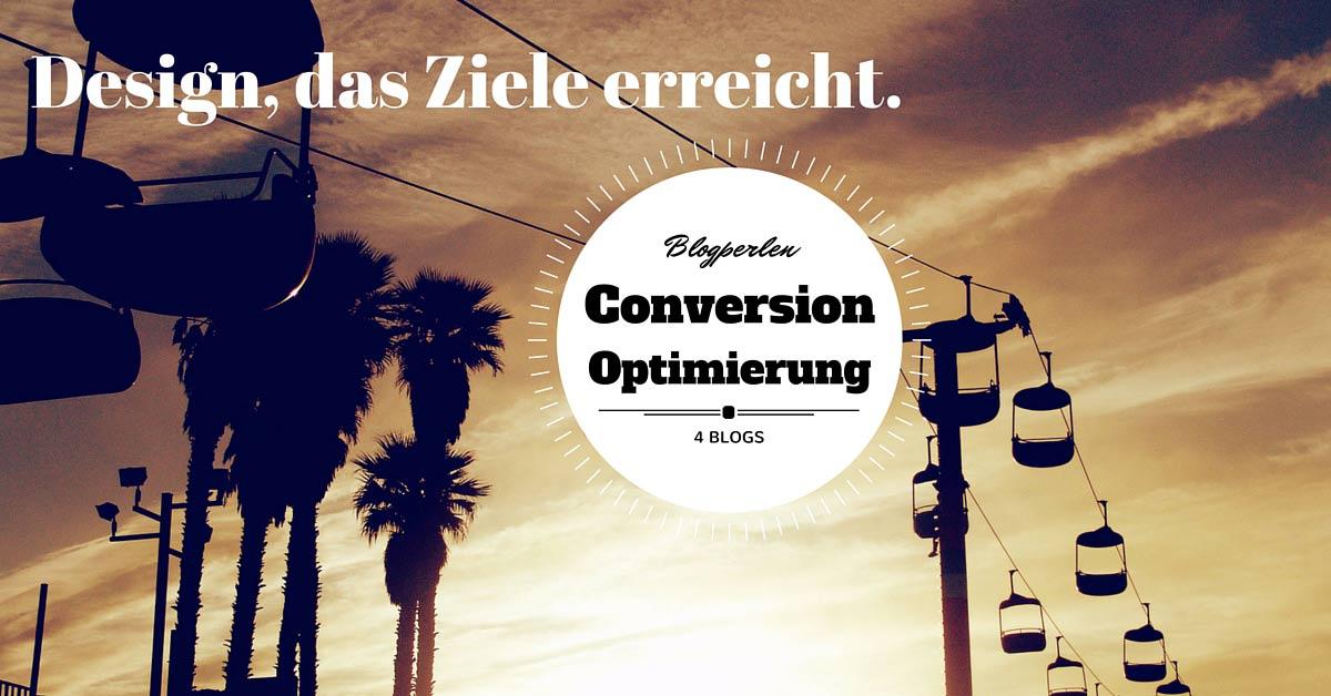 Blogperlen Conversion Optimierung