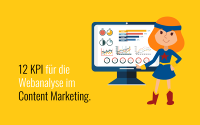 Webanalyse im Content Marketing: 12 KPI in einem Dashboard