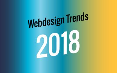 Webdesign Trends 2018 - WebSENNsation Zofingen