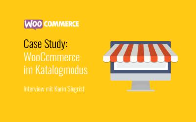 Online Shop mit WooCommerce im Katalogmodus