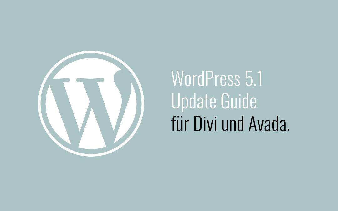 WordPress 5.1. Update-Guide: so glückt die Aktualisierung