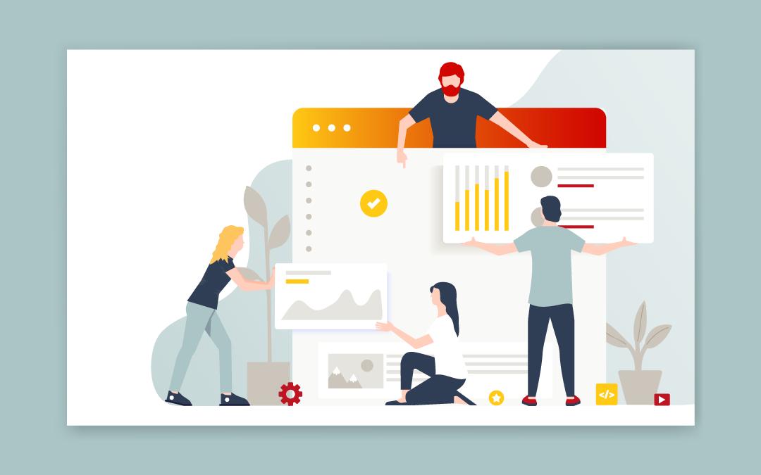 Webdesign - das gehört auf die Startseite