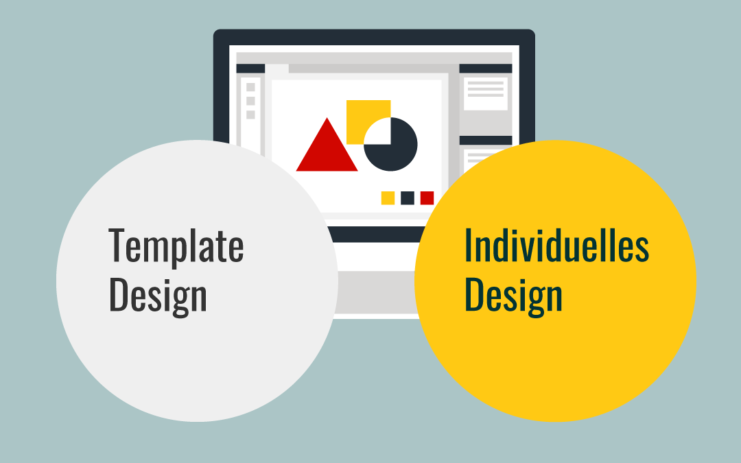 Template vs individuelles Design - Wordpress Webdesign