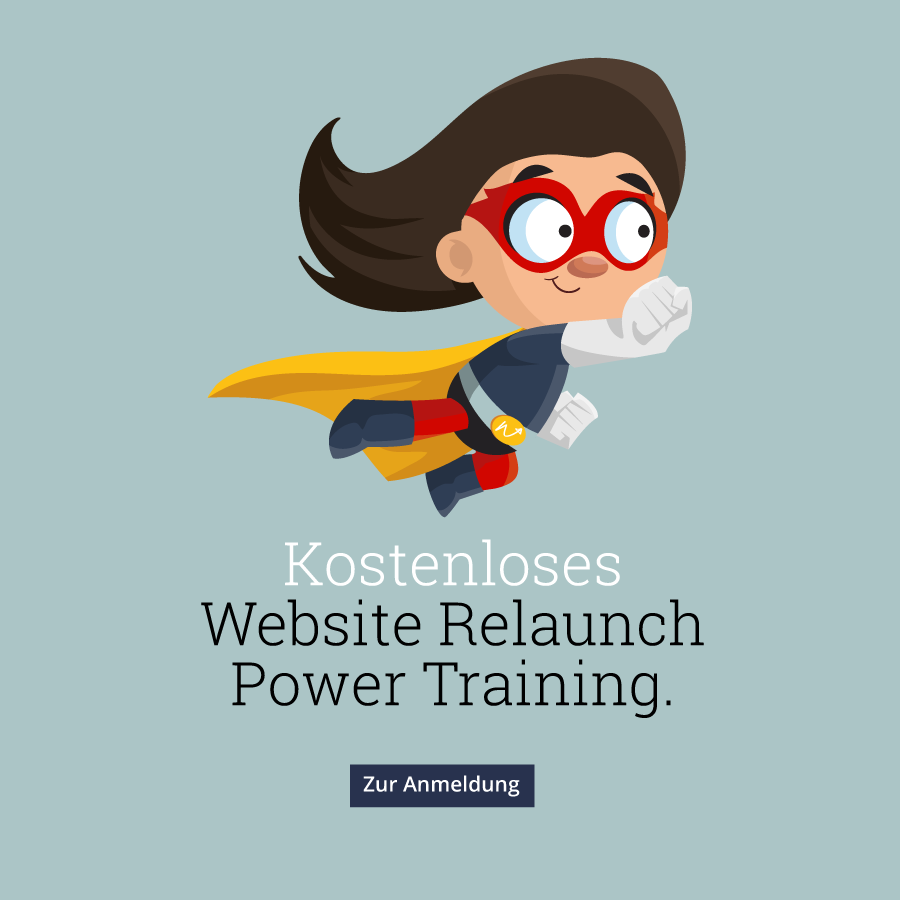 Website Relaunch Power Training